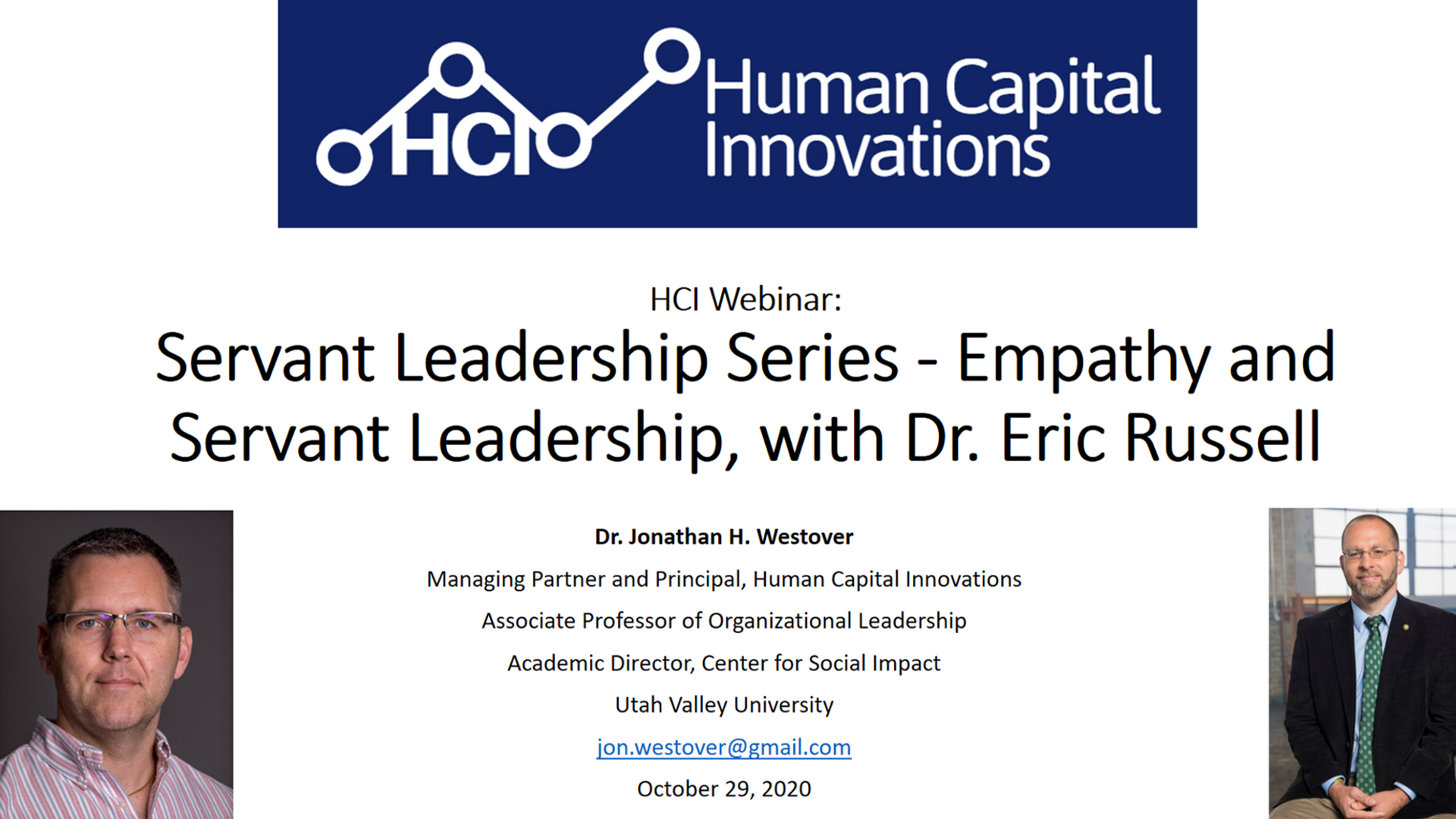 Servant Leadership Series - Empathy and Servant Leadership