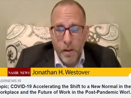 """As Seen on Nasir News: """"COVID-19 Accelerating the Shift to a New Normal in the Workplace"""""""