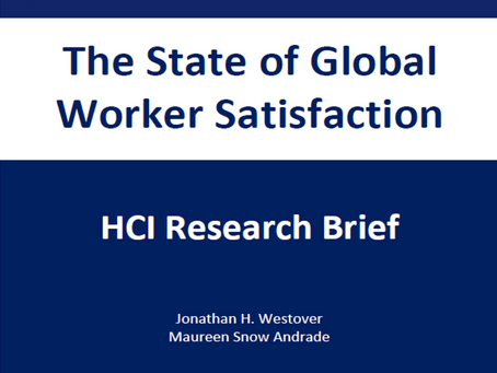 HCI Research Brief: The State of Global Worker Satisfaction