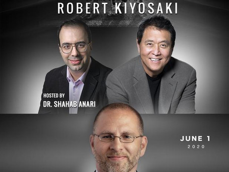Dr. Westover to be Featured in Online Summit with Robert Kiyosaki (Monday June 1, from 1-5 pm)