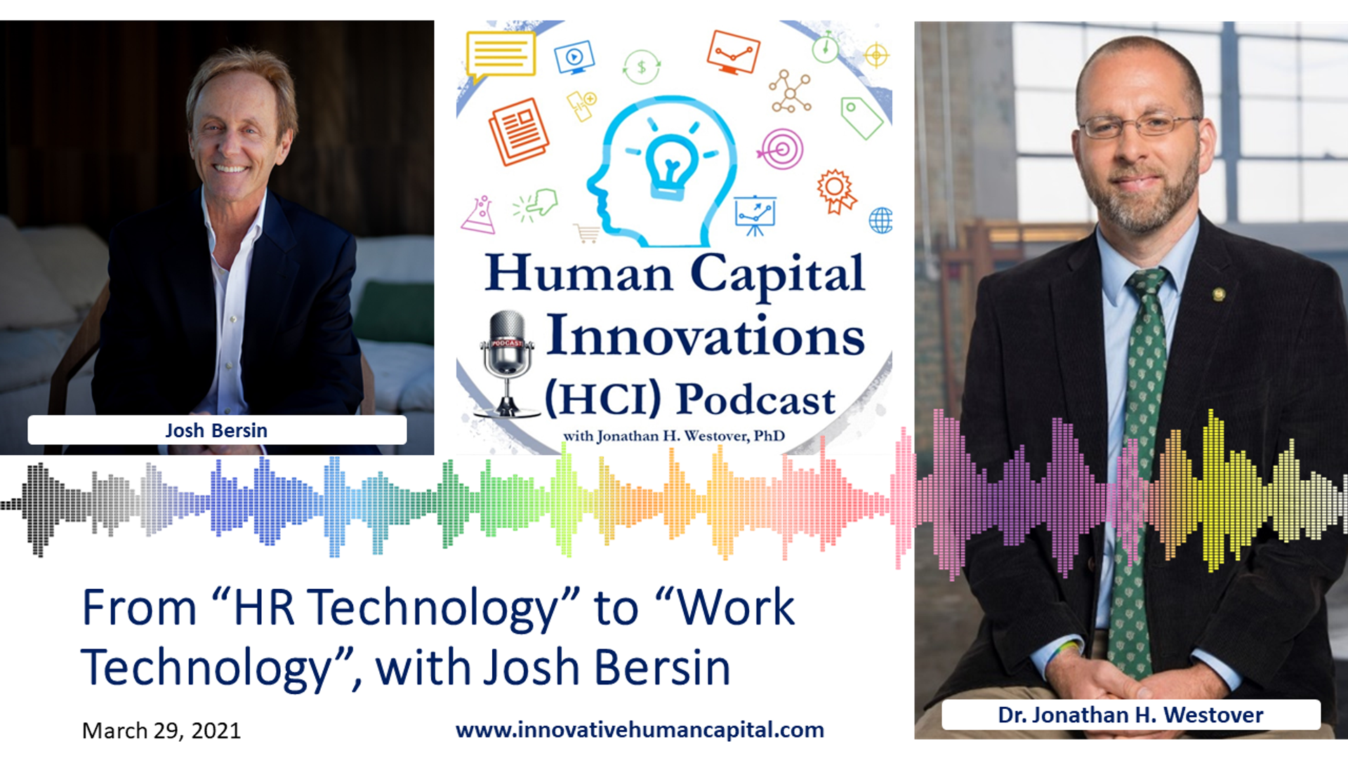 """From """"HR Technology"""" to """"Work Technology"""", with Josh Bersin"""