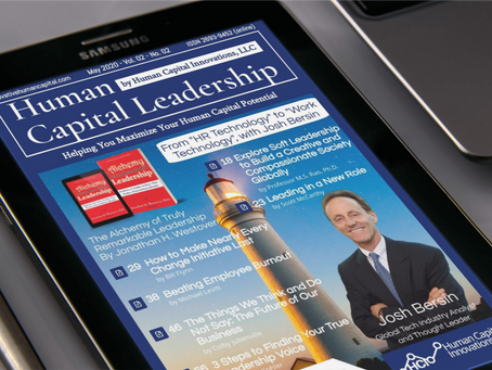 The May Issue of Human Capital Leadership Magazine is Out!