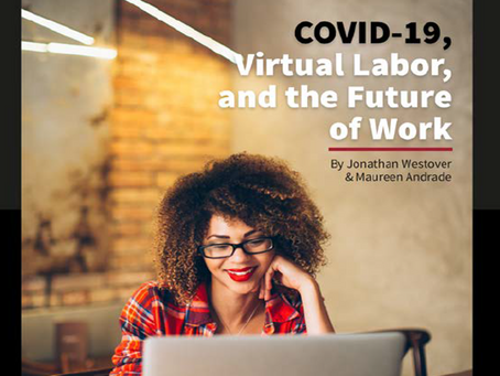 """As Seen at the Nkafu Policy Institute: """"COVID-19, Virtual Labor, and the Future of Work"""""""