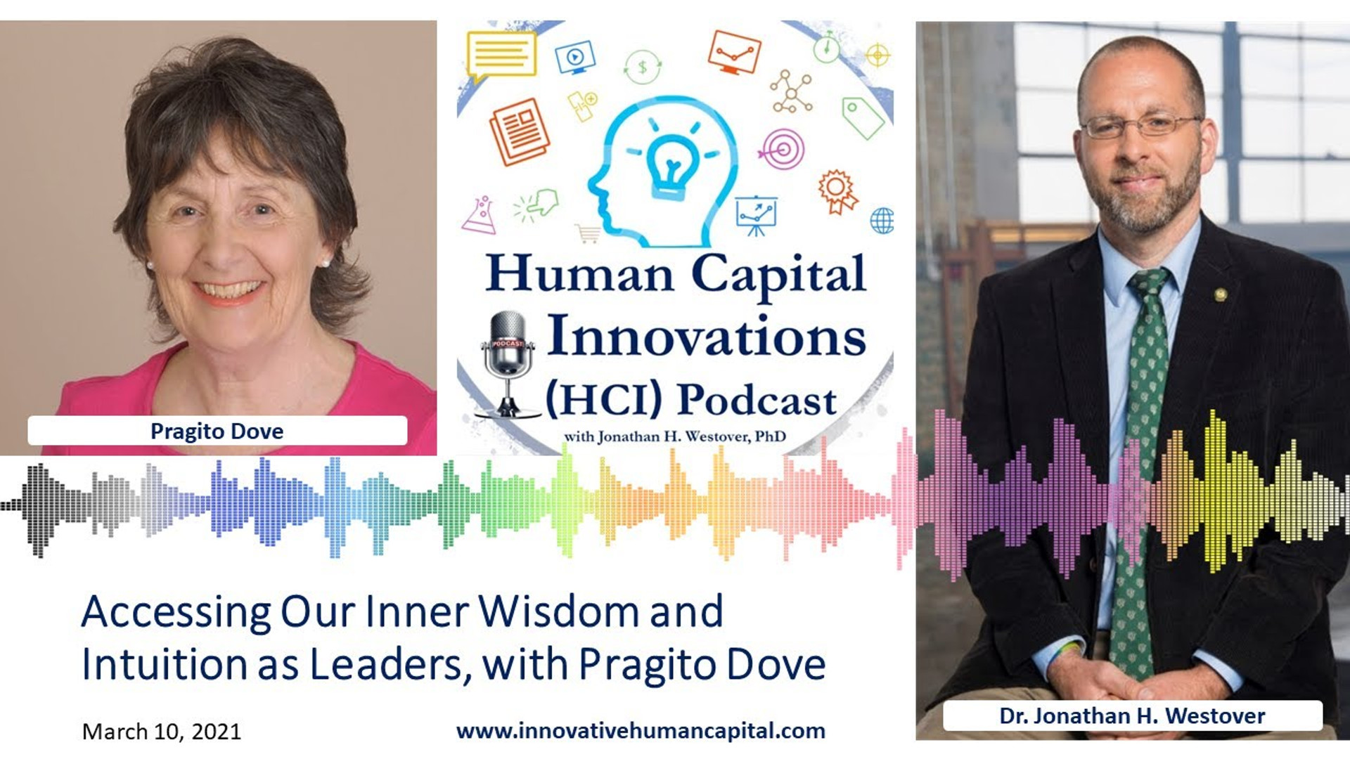 HCI Webinar: Accessing Our Inner Wisdom and Intuition as Leaders, with Pragito Dove
