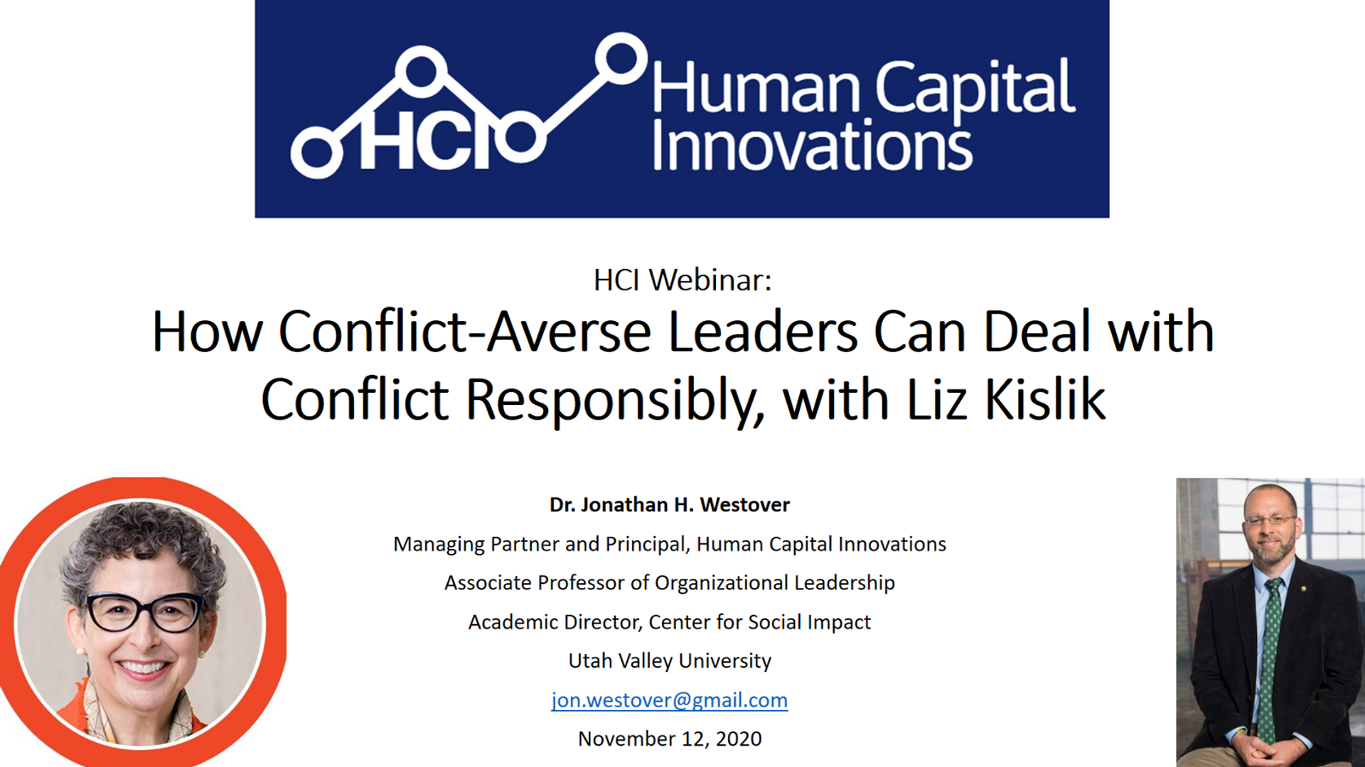 How Conflict-Averse Leaders Can Deal with Conflict Responsibly