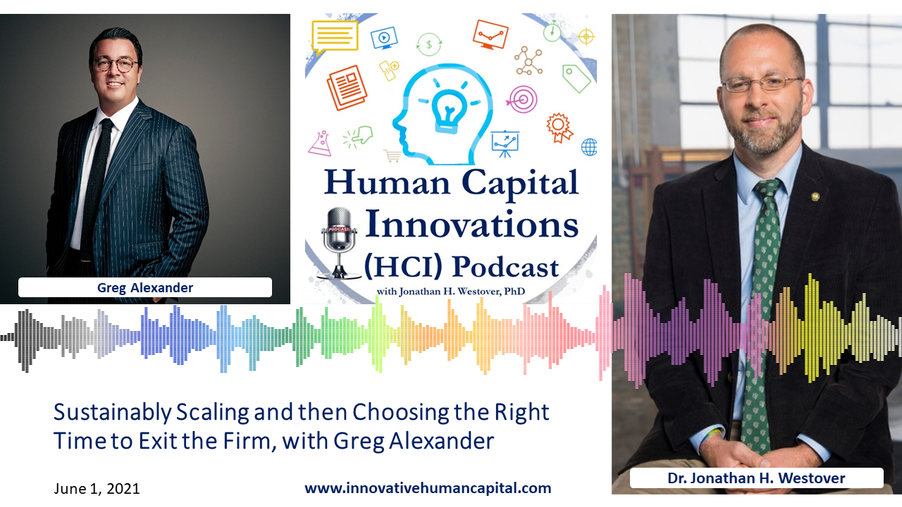 Sustainably Scaling & then Choosing the Right Time to Exit the Firm