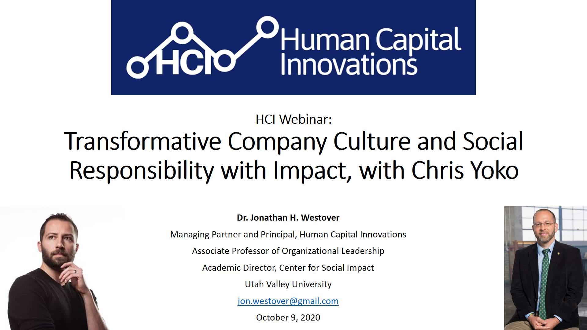 Transformative Company Culture and Social Responsibility with Impact