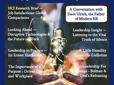 HCI Magazine Launch: Human Capital Leadership is Here!