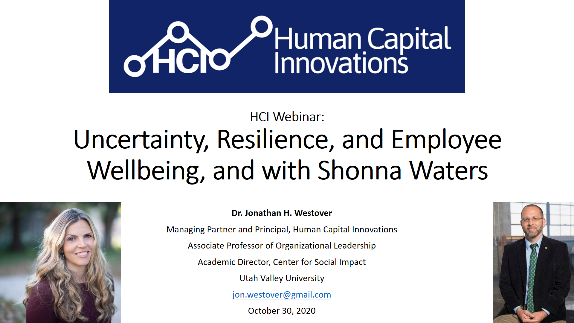 Uncertainty, Resilience, and Employee Wellbeing