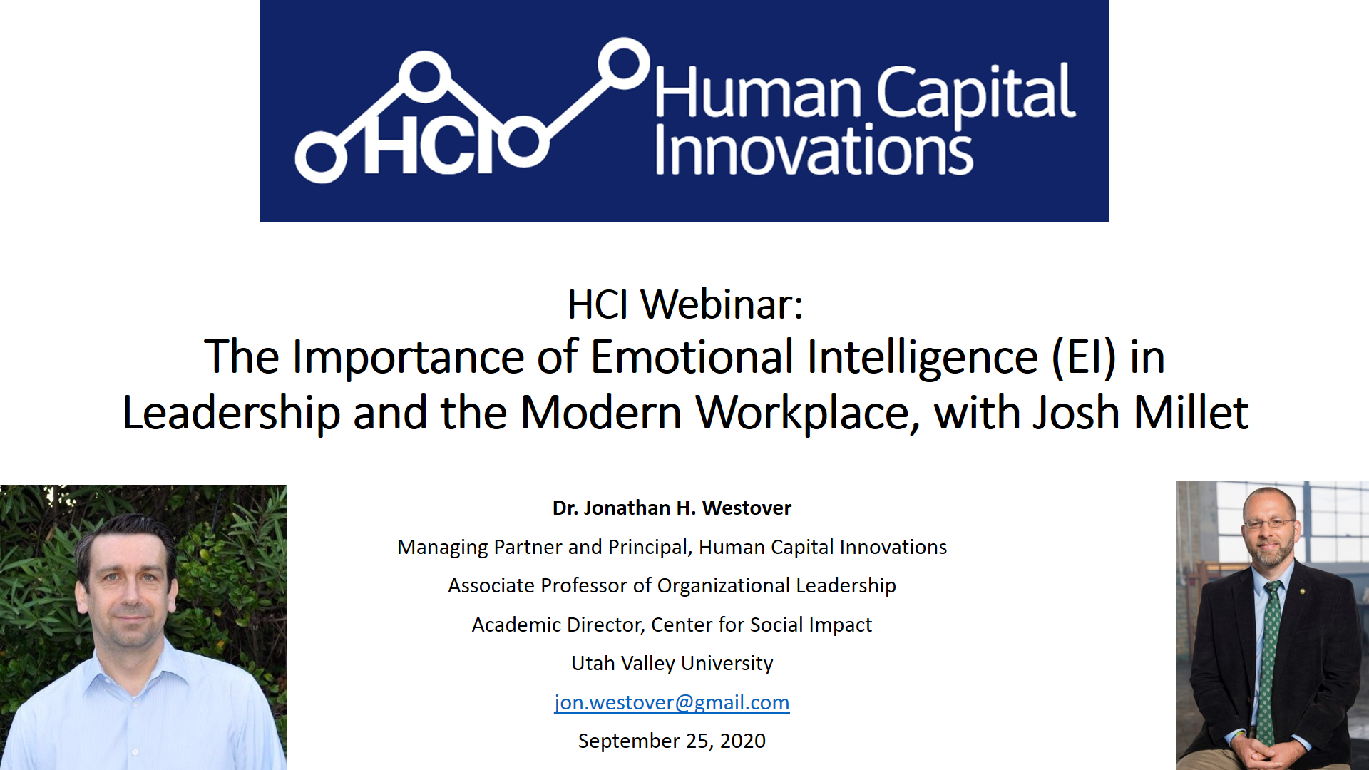 The Importance of Emotional Intelligence (EI) in the Modern Workplace
