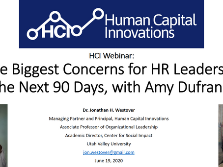 HCI Webinar: The Biggest Concerns for HR Leaders in the Next 90 Days, with Amy Dufrane