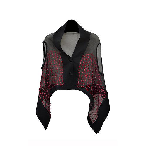 Cocoon Vest Black