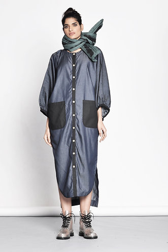 Kanki X Shirt Dress