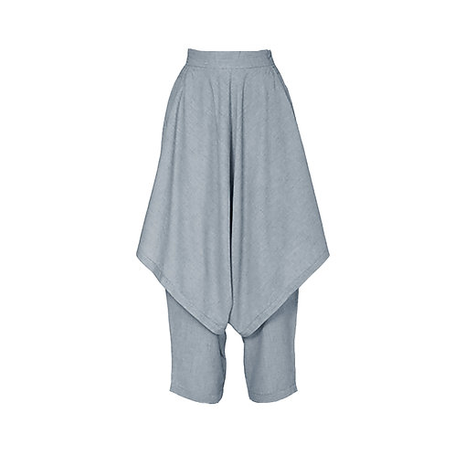 Dhoti Grey Pants