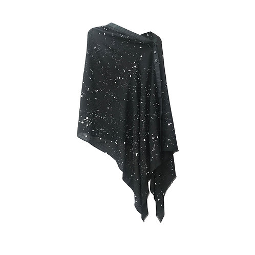 Being Wool Cape Black