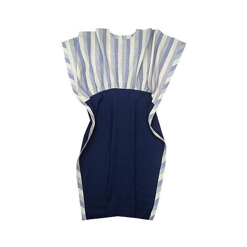 Sudoku Stripes Dress