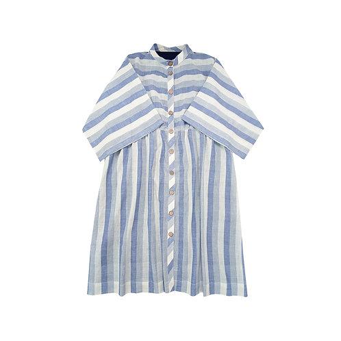 Brunch Stripes Shirt Dress