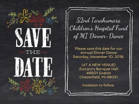 TCHF Michigan Dinner date set