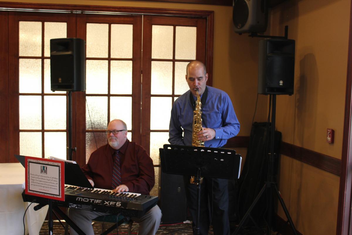 """Jeff & Kevin """"Reeds & Keys"""""""