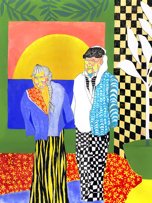 Mitchell and Hockney