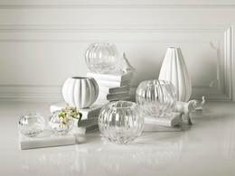 Pearl vases for Royal Copenhagen