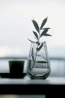 Glass vase series for Royal Copenhagen