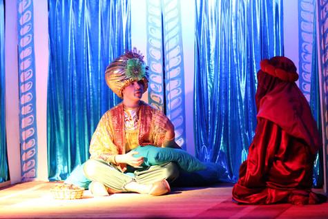 Квест Волшебная ламапа Алладина