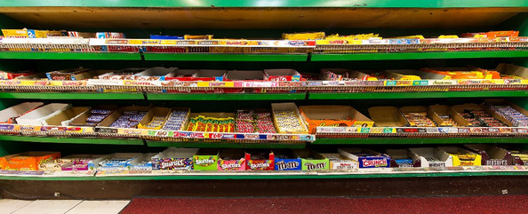 Convenience Store Counter, West End