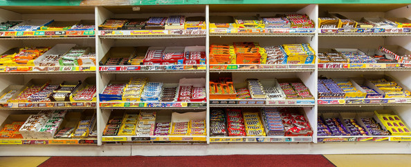 Convenience Store Counter, J&P