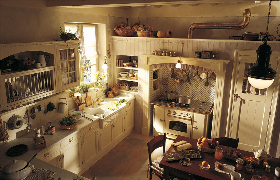 Cucina Old England - Cucina Country Chic - Torino