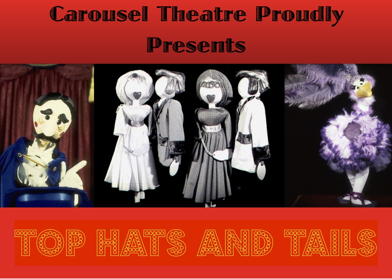 Top Hats and Tails Flyer Front