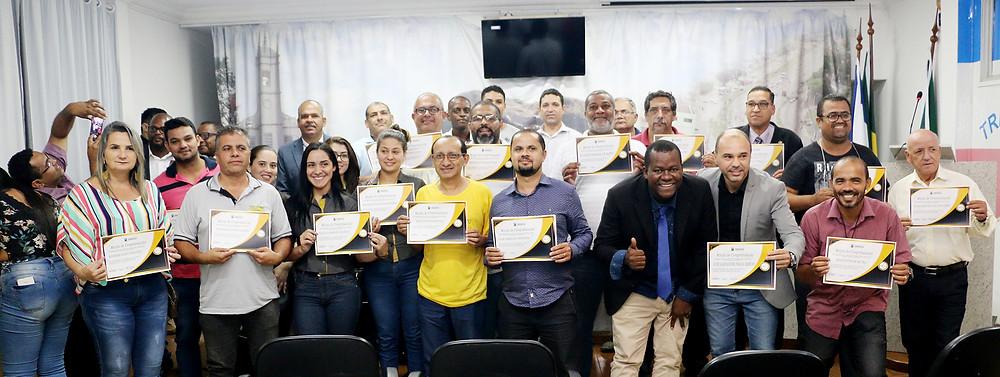 FOTOS DA SESSÃO SOLENE ALUSIVA AOS PROFISSIONAIS DO TRÂNSITO E MAIO AMARELO - VEREADOR PROPONENTE - WANDER - 30-05-19