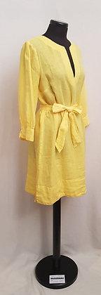 100% Leinen Kleid
