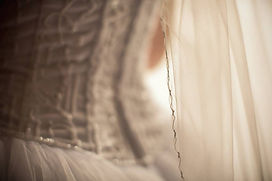 Wedding veil trim