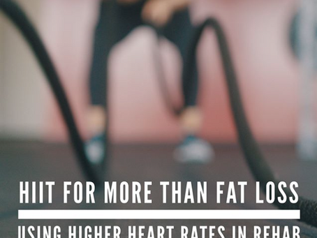 HIIT for More than just Fat Loss?