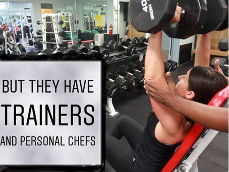Is fitness easier when you're rich & famous?