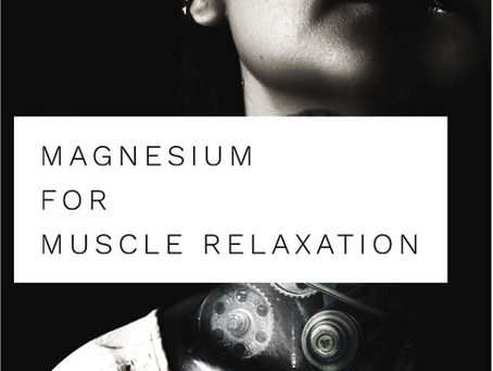 Other ways to relax: Using Magnesium Supplements