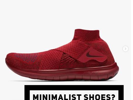 Are minimalist sneakers a good idea?