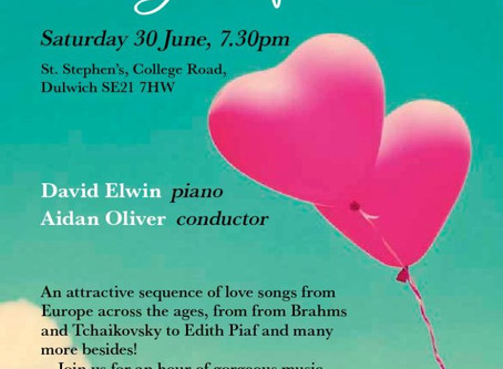 Summer Concert - Dowland, Purcell, Piaf and The Beatles