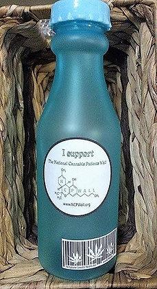 BPA FREE H2O Bottle with lanyard.