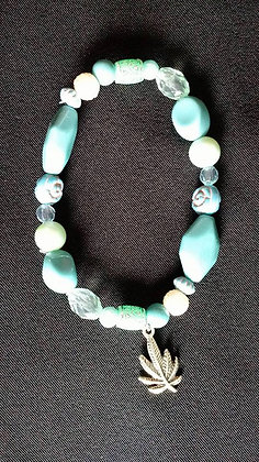 Turquoise and Seafom Green Bracelets