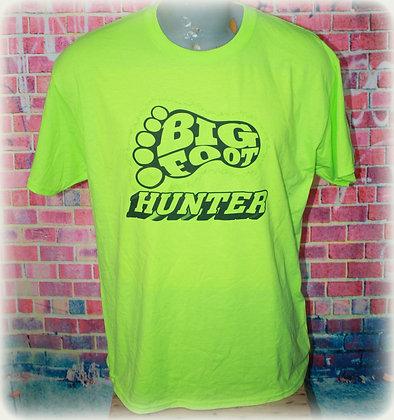 Bigfoot Hunter Footprint Electric Green / Size L