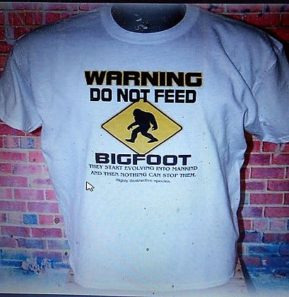 Warning Do Not Feed T    Size S