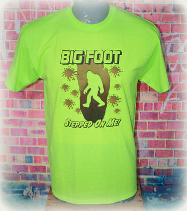 Bigfoot Stepped on Me!   Size M