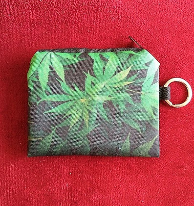 Cannabis Coin Catcher and Key Ring