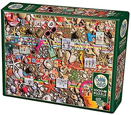 Beach Scene 1000pc Cobble Hill Jigsaw Puzzle