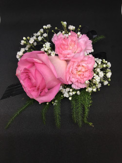 Rose and Minicarnation Corsage