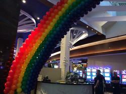 Rainbow Balloon Sculpture