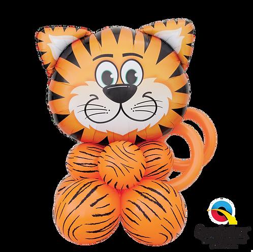 Tickled Tiger Super Animal Table Topper