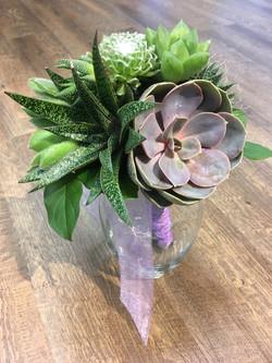 Bride's Maid Bouquet 2 - Succulents